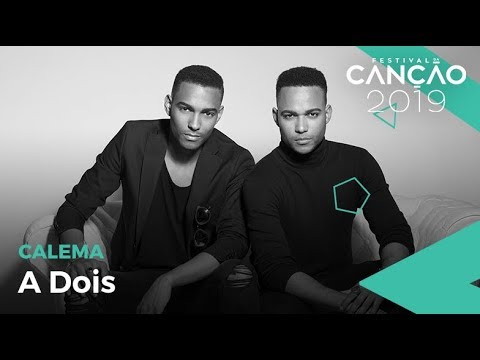 Calema - A Dois (Lyric Video) | Festival da Canção 2019 thumbnail