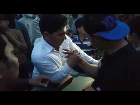 Attock Arm Wristling Winner Faizan Ullah Khan Tanoli Winner 2018