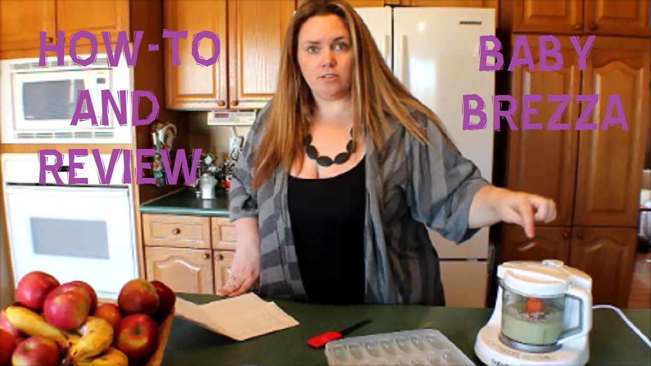 HOW-TO AND REVIEW OF THE BABY BREZZA FOOD MAKER! (FORMAL FRIDAY #6)