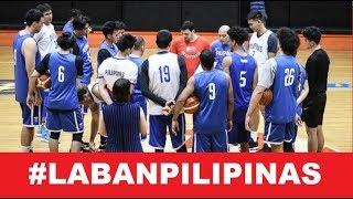 Gilas Pilipinas Unofficial Lineup vs Iran | FIBA Asian Qualifiers | Sept. 13, 2018