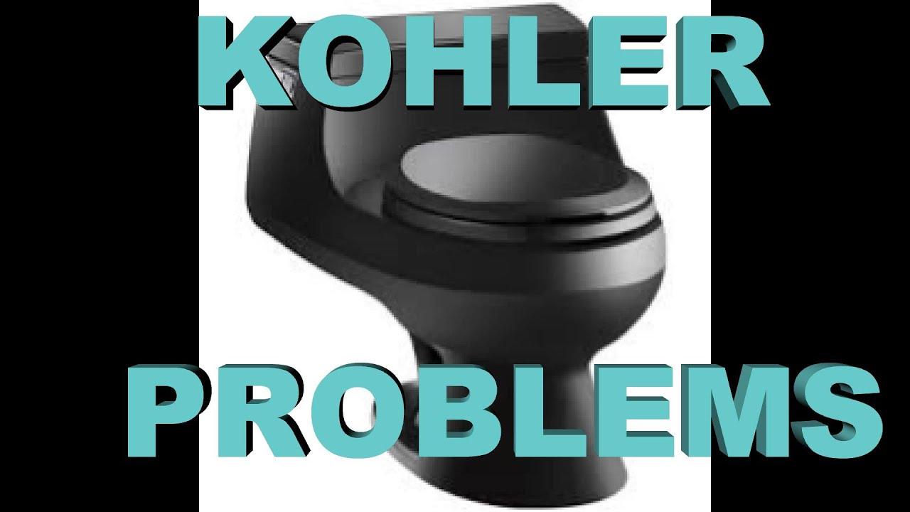 Kohler Rialto / San Raphael toilet problems # 84499 1013282 - YouTube