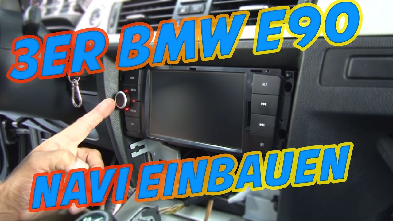 Autoradio navi im 3er bmw e90 einbauen tutorial for Antenne de tv interieur