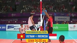 VIETNAM VS INDONESIA | Men's Volleyball | Sea Games 2019