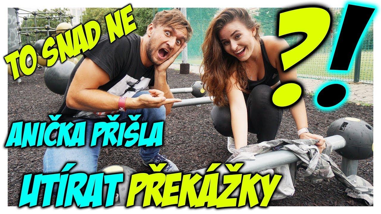 Učím youtubery parkour #19 | Anna Sulc