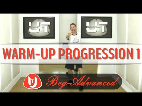 Tap Dance Warm-Up Exercise Progression 1 By Rod Howell At United Taps