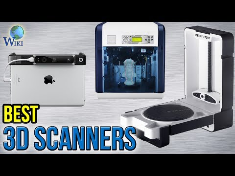 7 Best 3D Scanners 2017