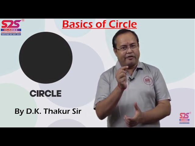 Circles I What is Circle | Radius, Diameter, Exterior & Interior Circle, Tangent, Secant, Arc, Chord