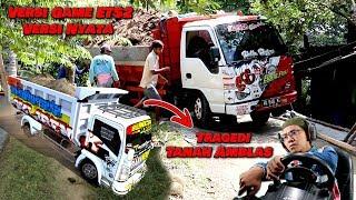 Truck Dump Angkut Tanah untuk rumah Mbah Purnomo
