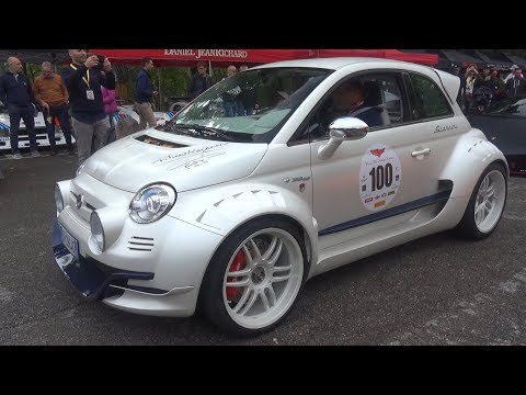 Giannini 350 GP – EXTREME Modified RWD Fiat 500 Swap Alfa 4C Turbo Engine!