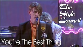 The Style Council - You're The Best Thing (Saturday Live HQ)