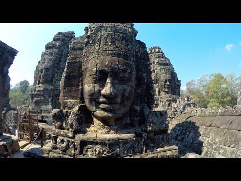 Cambodia Travels: Siem Reap, Angkor Wat - DJI Phantom Drone GoPro