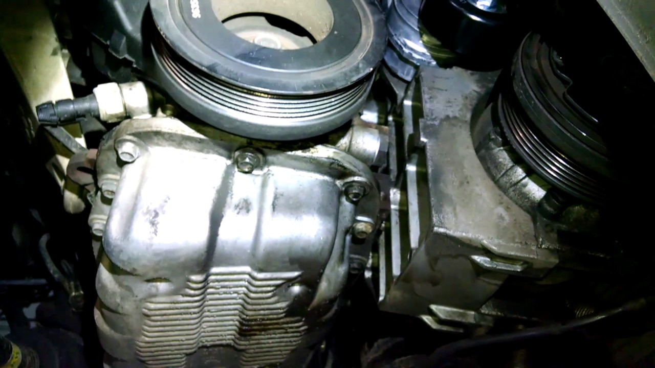 Serpentine belt tensioner replacement 2006 Chevrolet Aveo Install, remove or replace  YouTube