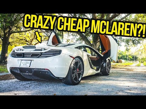 Here's Why A Cheap Used Mclaren 12C Is BETTER Than ANY New Supercar (OR IS IT?!)