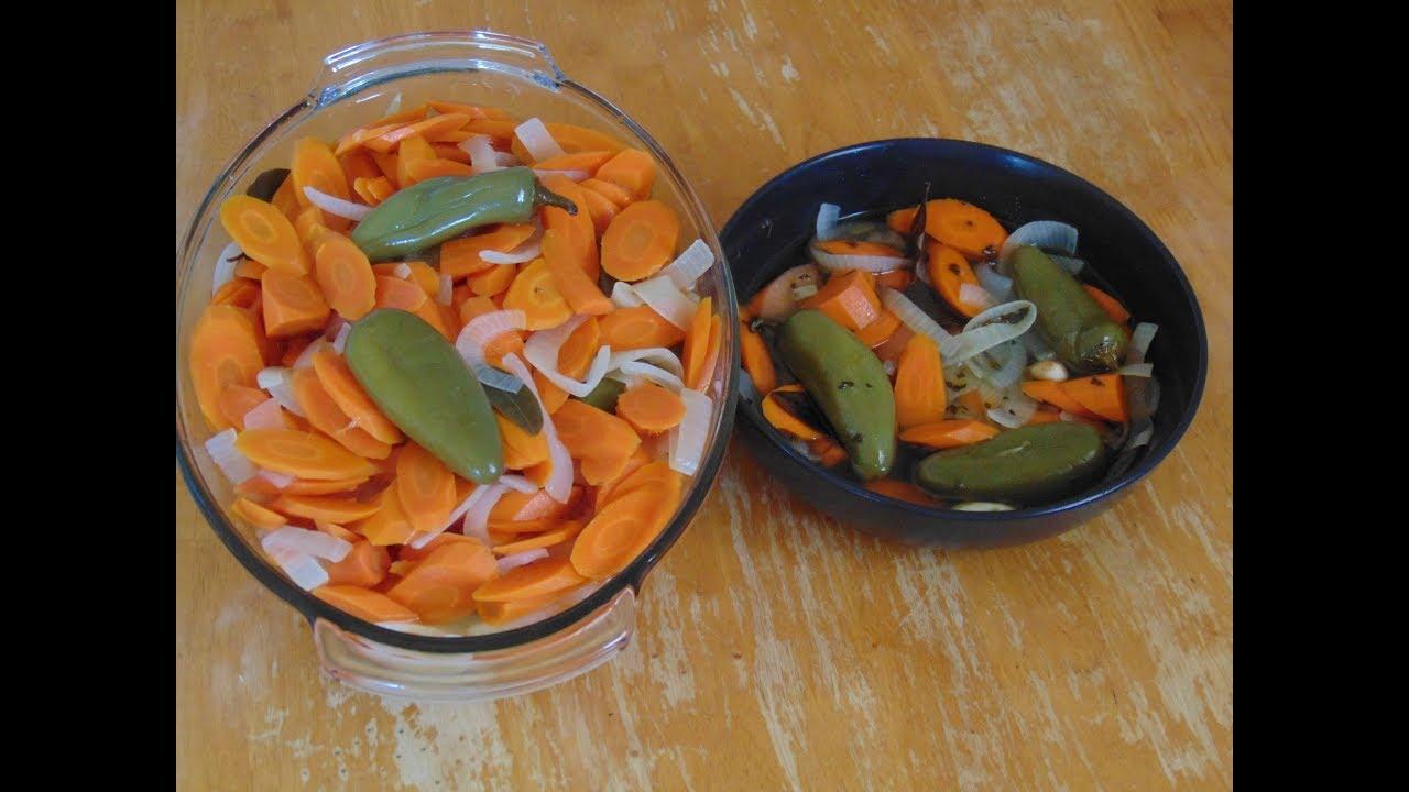 Zanahorias En Escabeche Para Taquizas Acompana Cualquier Antojito