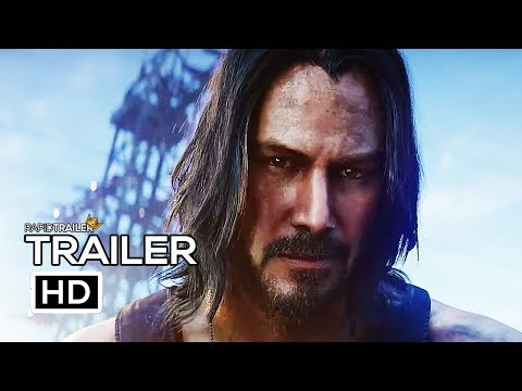 Clint August - CYBERPUNK 2077 Official Trailer (2020) Keanu Reeves, E3 Game HD