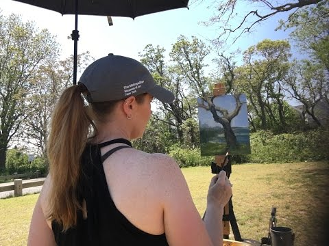 Plein Air Painting Basic Tree Anatomy with Jessica Henry
