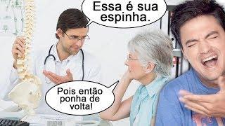 DESAFIO A NÃO RIR! MEMES MÉDICOS! thumbnail