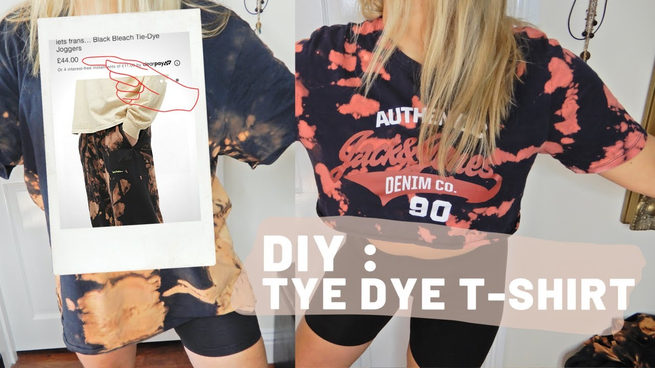 @Frenchy Maelly: DIY | HOW TO TIE DYE A T-SHIRT | Facile et Rapide , upcycling