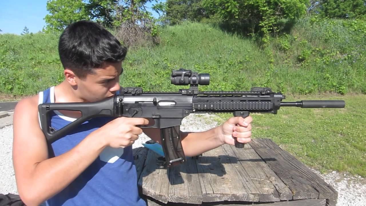 Sig Sauer 522 Swat W Swr Warlock Silencer Youtube