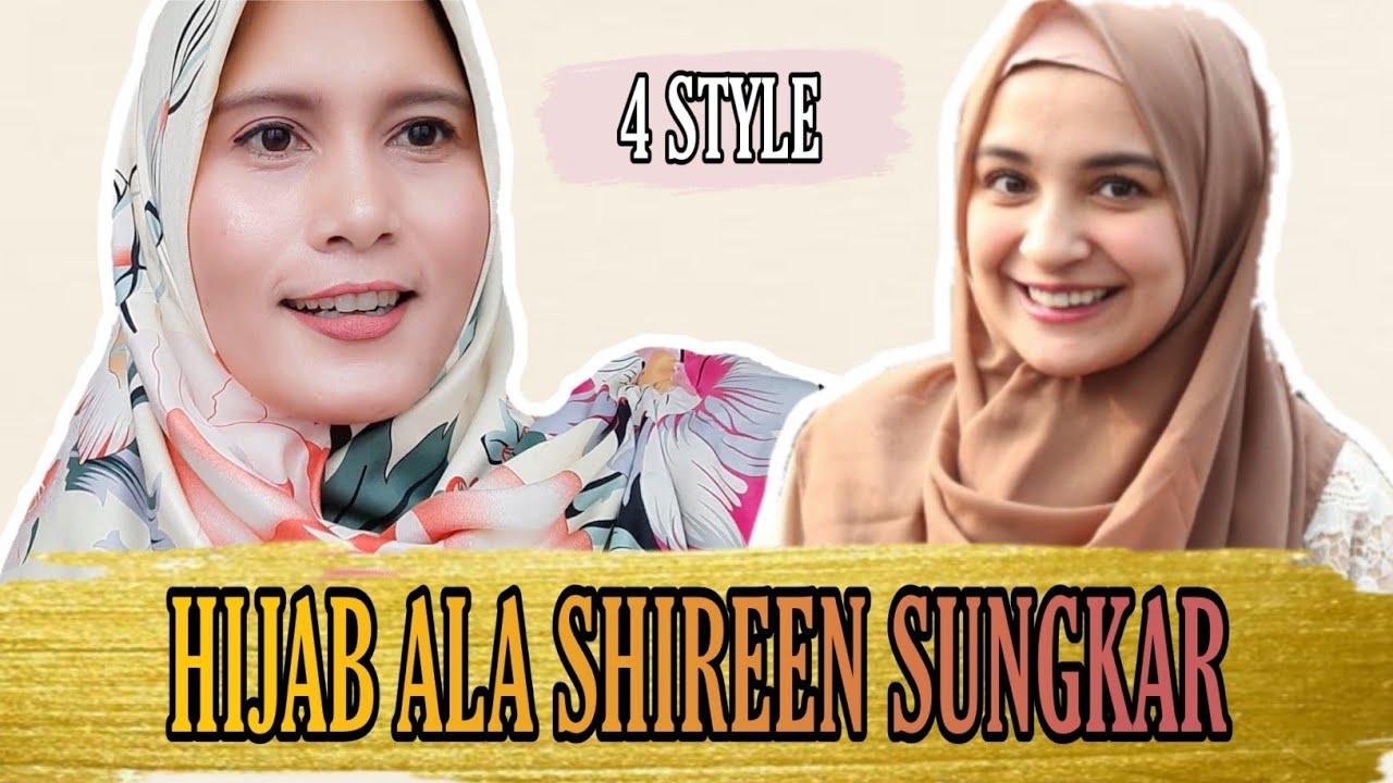 Tutorial Hijab Segi Empat Ala Shireen Sungkar Youtube