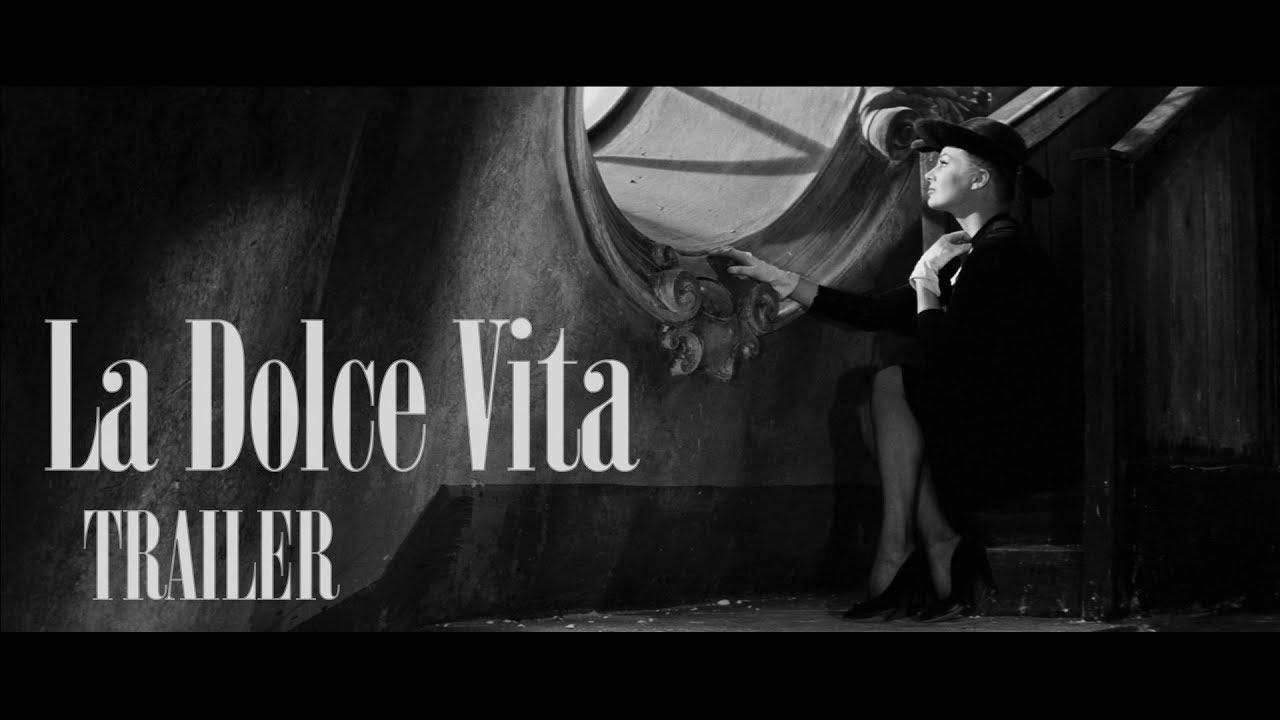 La dolce vita - scena - fontana di trevi - YouTube
