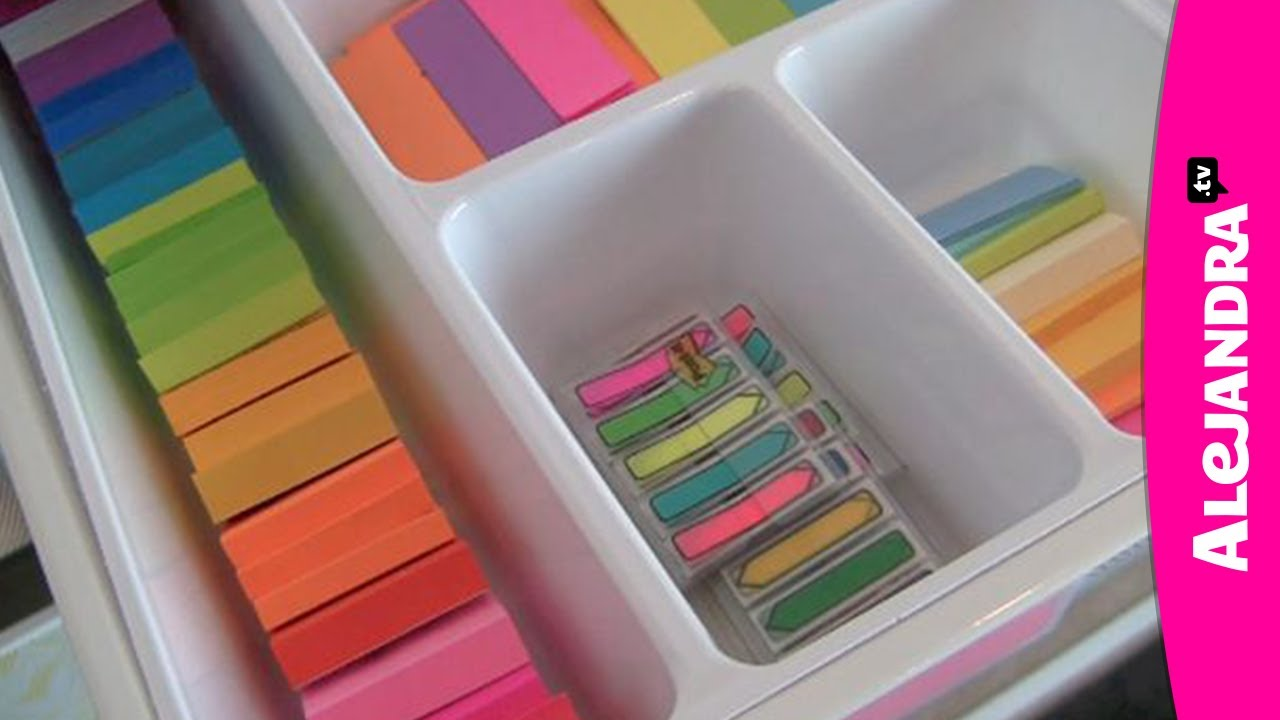 Organizing Notepads In The Home Office Youtube