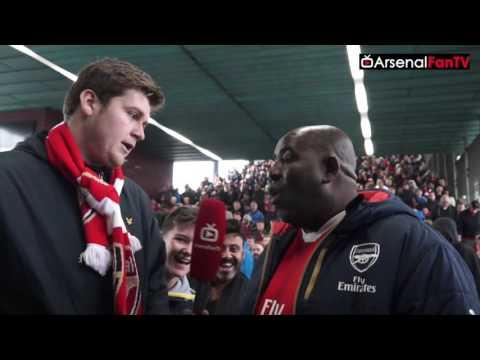 Arsenal vs Swansea 3-2 | What A Strike By Mesut Ozil!!!