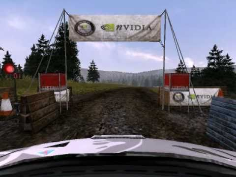 Colin Mcrae Rally 2005 Great Britain stage 8 (Gwyddelwern)