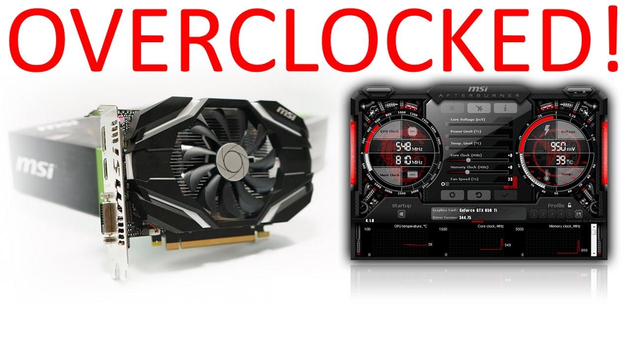 Overclocking The Smashkin's GPU | MSI GTX 1050 Ti Overclock! | My Tech Vlog