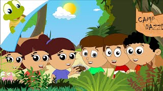 Here we go round the mulberry bush - Nursery Rhyme for Kids