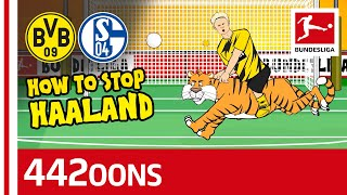 How to Stop Erling Haaland  The Song  Powered by 442oons