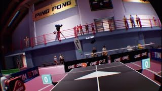 New  vr ping pong