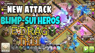ASTRO DRAG | NEW TH11 ELECTRO DRAGON ATTACK STRATEGY | CLASH OF CLANS |