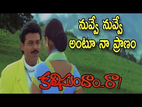 Kalisundam Raa Movie Video Songs   Nuvve Nuvve Antu Naa Pranam Song   Venkatesh   Simran