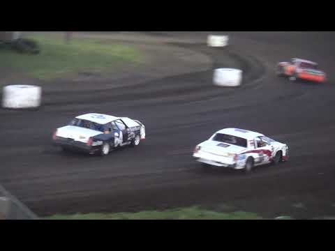 """Albert Auto Night"" Hobby Stock feature Benton County Speedway 9/17/17"