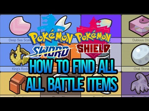 How To Find Every Battle Items Locations In Pokemon Sword And Shield (Guide)