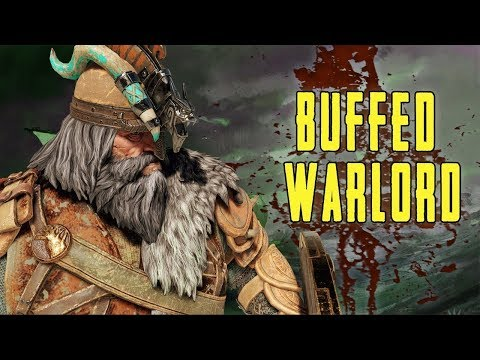Buffed Warlord in For Honor's New Game Mode