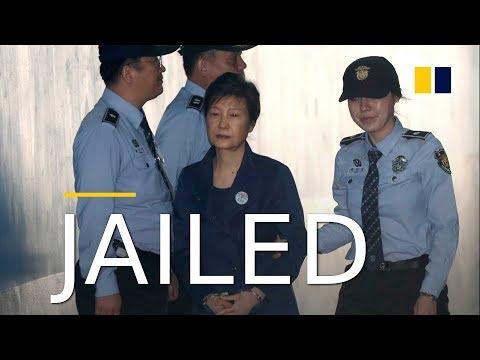 Former South Korean president Park Geun-hye jailed for 24 years for bribery