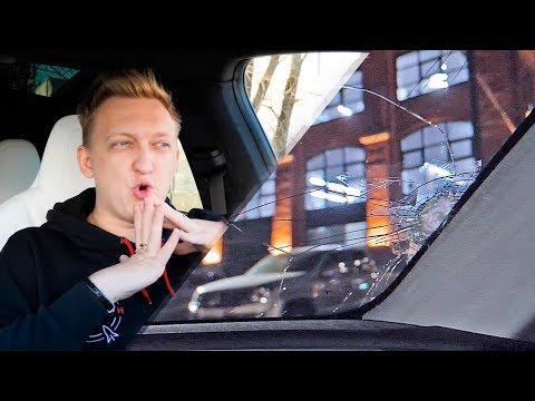 ХЕЙТЕРЫ разбили мою машину Теслу Model 3... Вся правда