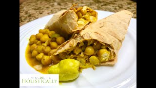 Homemade Vegan - Chickpea Pockets