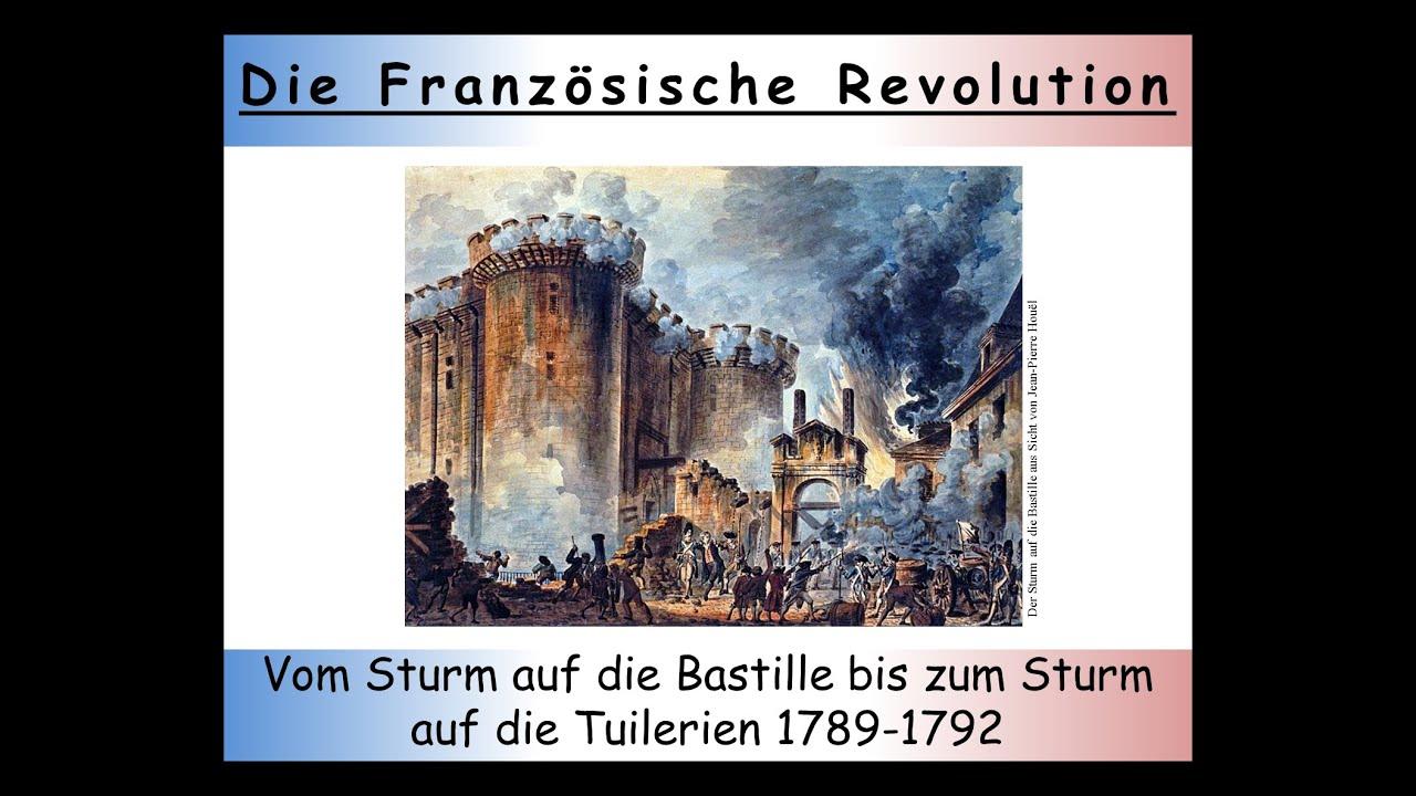 Französische Revolution Zusammenfassung Teil 2 Die Erste Phase