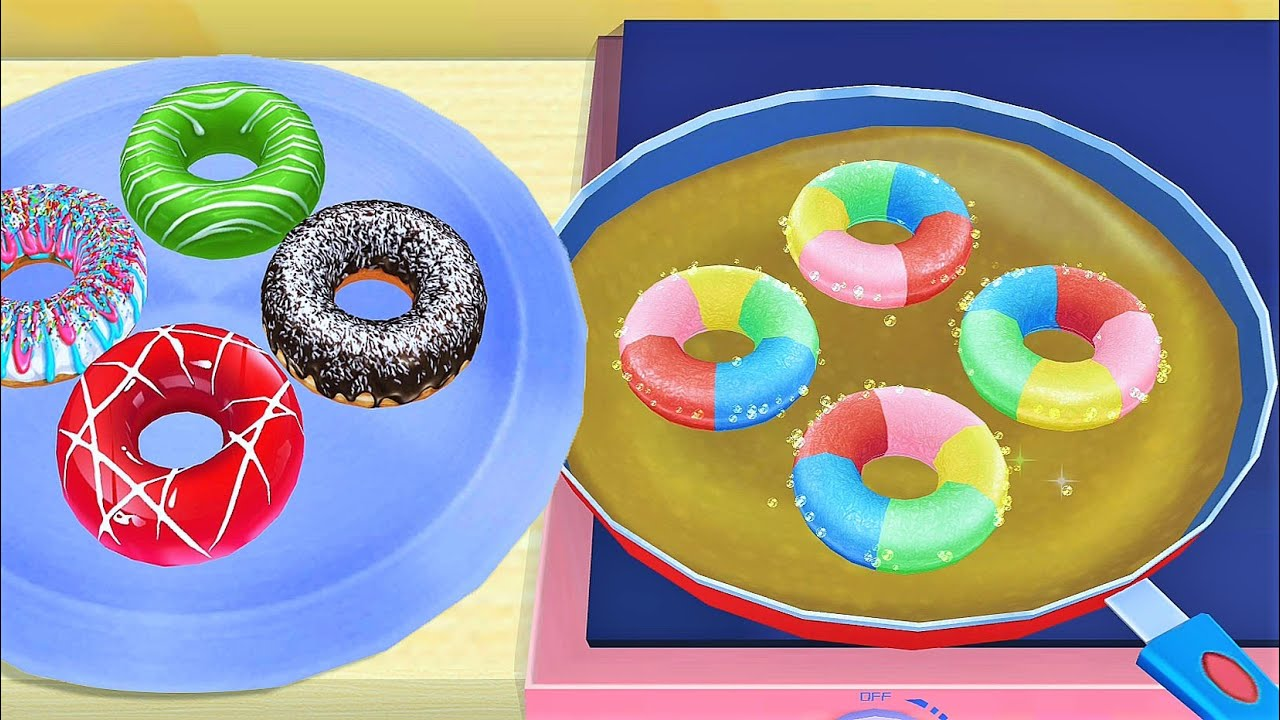 Fun Cake 3d Making: Sweet Bakery Shop, Desserts, Cakes Design & Dress up Games For girls