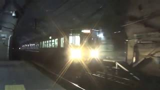 日本海ひすいライン 普通直江津行き到着~発車@筒石