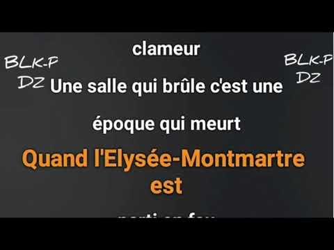 Medine - Bataclan ( Paroles / Lyrics ) + audio