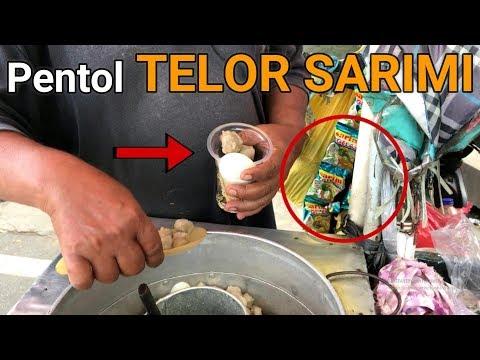 KETIKA ANAK SD PADA KETAGIHAN SAMA PENTOL TELOR SARIMI | INDONESIA STREET FOOD