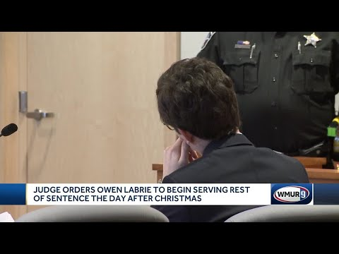 Judge orders Owen Labrie to begin serving rest of sentence Dec, 26