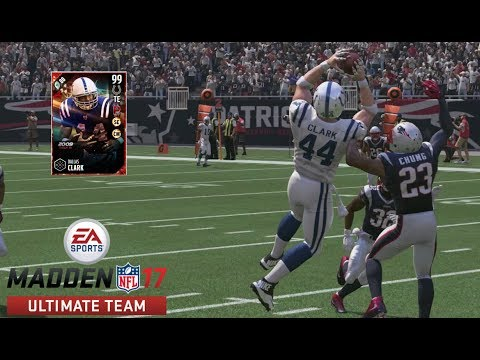 99 LIMITED EDITION DALLAS CLARK DEBUT | MADDEN 17 ULTIMATE TEAM GAMEPLAY