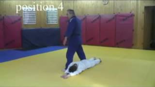 Уроки дзюдо. Обучение детей основам падения. Ukemi.