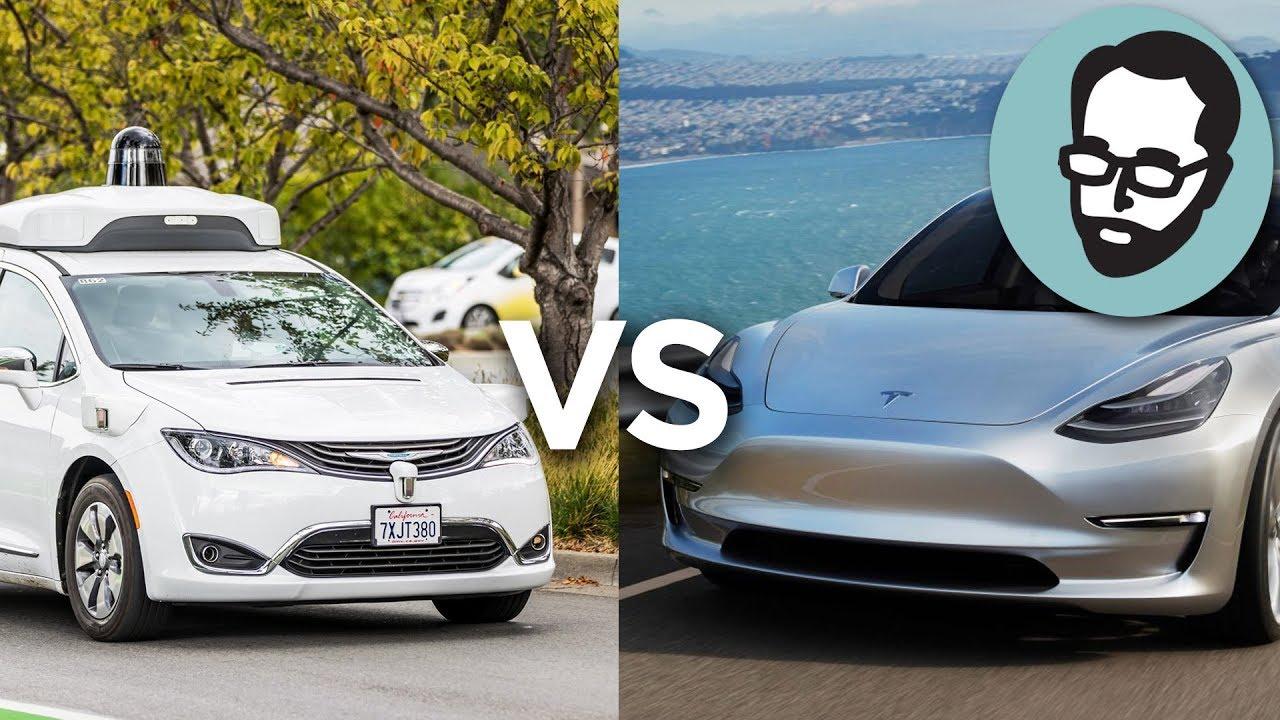 LiDAR vs Computer Vision: Does Waymo Have A Better Strategy Than Tesla? |  Random Thursday