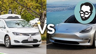LiDAR vs Computer Vision: Does Waymo Have A Better Strategy Than Tesla? | Random Thursday
